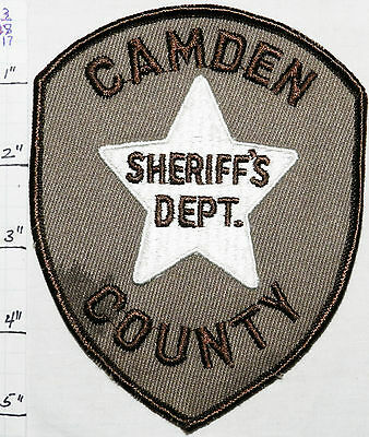 NEW JERSEY, CAMDEN COUNTY SHERIFF'S DEPT BROWN PATCH