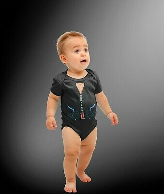 Baby Russian Spy Superhero Comic Halloween Costume Cosplay Bodysuit