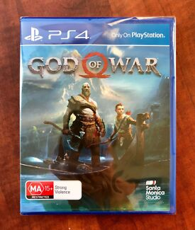 Ps4  GOD of WAR  BRAND NEW & SEALED Condition $35 or Swap