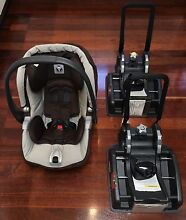 Peg Perego Baby Capsule + 2 Bases Mount Hawthorn Vincent Area Preview