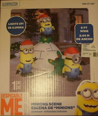 Christmas Inflatable Disney Minions Igloo Despicable Me Airblown Yard Decoration - Inflatable Minion Despicable Me