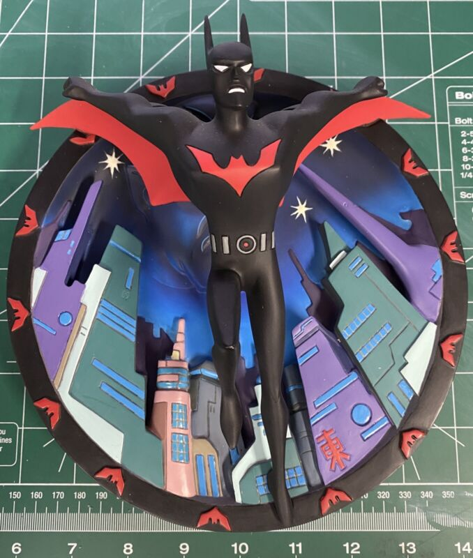 Rare Batman beyond in the 3rd Dimension Warner Brothers Plate 572 of 2500