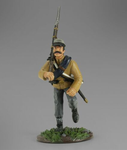58mm-1/30th Scale History ACW18611 American Civil War Confederate Charging #5