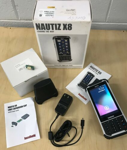Nautiz X8 Data Collector and Expansion Cap with LRBT