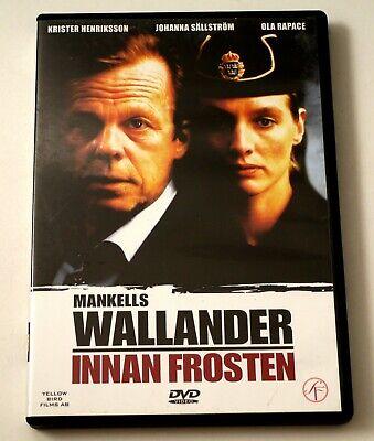 Wallander / Innan frosten DVD Krister Henriksson Johanna Sällström Engl Subtitle