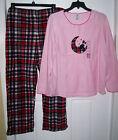 Unbranded Plus Size Fleece Pajama Sets for Women