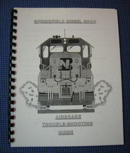 Burlington Northern Railroad Locomotive 26 Air Brake Troubleshooting Manual