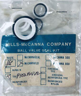 Hills-mccanna Ball Valve Seal Kit 12 Tfe P152