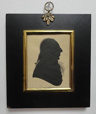 Halle Portrait (Antique 18th Century Silhouette Portrait of Richard Jones of Llanerchrugog Hall )
