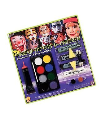 Makeup Factory for Children with Glitter, Fake Blood, Scar Wax and Black Toot...](Girl Makeup For Halloween)