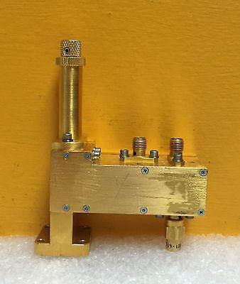 Hughes Millitech 47430h-2001 Wr-42 18 To 26.5 Ghz Waveguide Harmonic Mixer