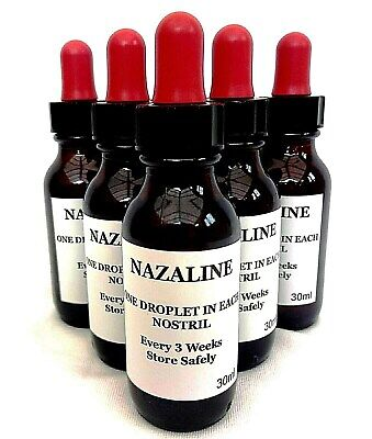 Nazaline Nasal Drops 30ml Racing Pigeons Respiratory Treatment Supplement.