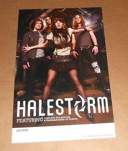 Halestorm Tour Poster
