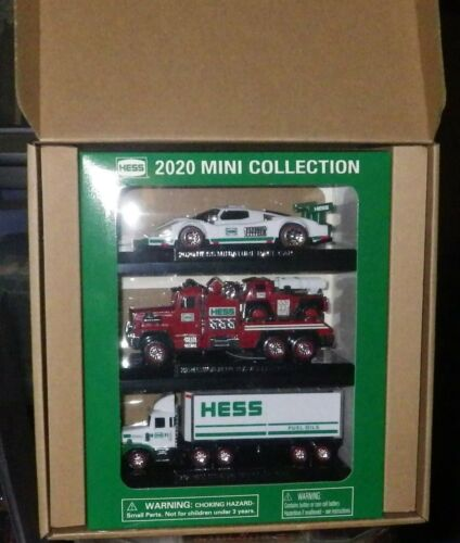 2020  HESS MINI TRUCK IN HAND READY TO SHIP SOLD OUT AT HESS