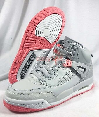 newest 204ad 72f61 NIKE AIR JORDAN SPIZIKE GG Sz 4.5Y Pink 535712-026 Girls DMP 36.5 Wolf Sun  Blush