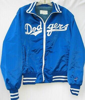 Vintage Los Angeles Dodgers 2 pocket zip front stitched jacket men's size large Los Angeles Dodgers Pocket
