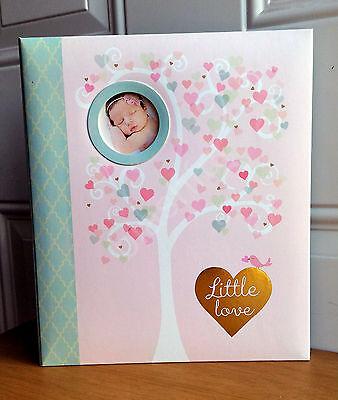 NEW CR Gibson LITTLE LOVE Baby Girl Memory Keepsake Book Loose Leaf
