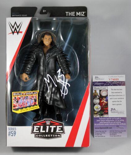 THE MIZ SIGNED WWE ELITE 59 FIGURE MATTEL SMACKDOWN RAW STAR AUTOGRAPHED JSA COA