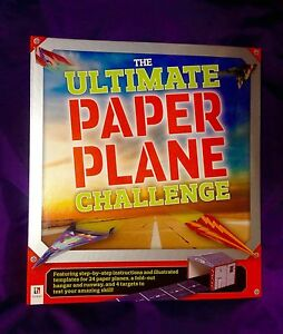The Ultimate Paper Plane Challenge by Hinkler