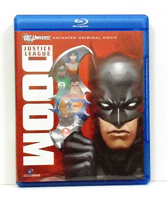 Justice League: Doom Blu-ray Only Kevin Conroy Tim Daly Fillion Lumley Rosenbaum