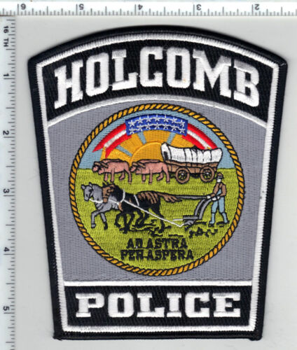 Holcomb Police (Kansas) Shoulder Patch - new