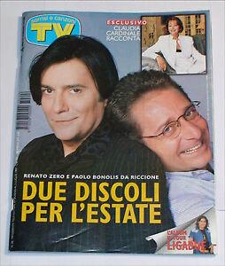 TV-SORRISI-E-CANZONI-26-GIUGNO-LUGLIO-1997-RENATO-ZERO-BONOLIS-LIGABUE-CARDINALE