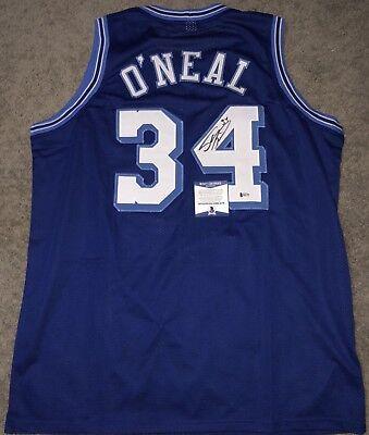 d66d729264e Shaq Shaquille O'Neal Signed Authentic LA lakers Jersey JSA COA Heat Magic