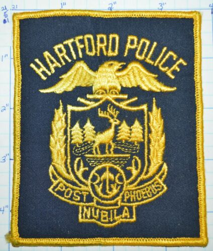 CONNECTICUT, HARTFORD POLICE DEPT VINTAGE PATCH