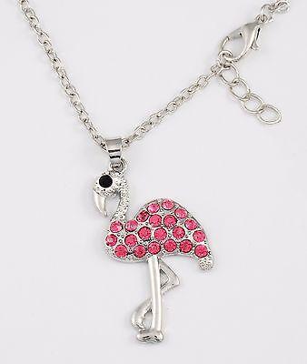 Pink Flamingo Necklace  Huge sale Florida jewelry gift everglades bird