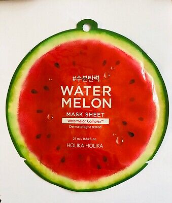 BNIP 1 x Holika Holika Watermelon Sheet Skincare 25ml_moisturises & elasticises