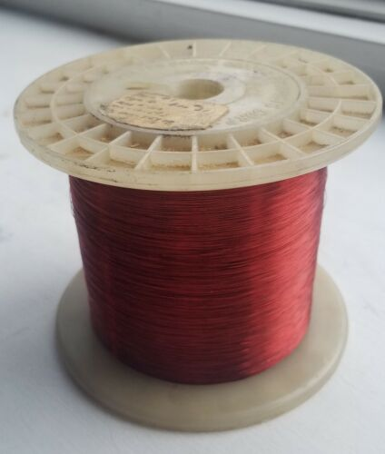Enameled Copper Magnet Wire 31 AWG - 2.55 lbs Spool