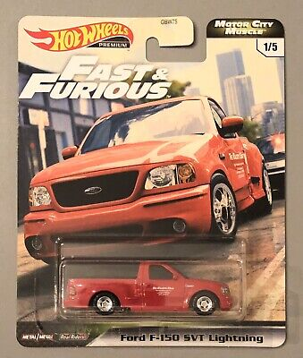 2020 Hot Wheels Fast & Furious Ford F-150 Lightning Motor City Muscle