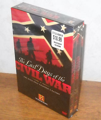 History Channel Presents  Last Days Of The Civil War  Dvd  2003  2 Disc Set  New