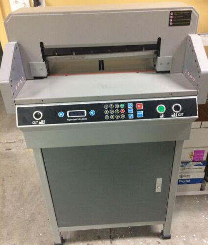 TP14806 19 inch guillotine Programmable paper cutter