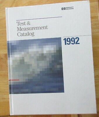 1992 Hp Hewlett Packard Test Measurement Catalog. 782 Pages