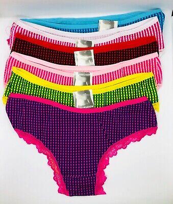 Joe Boxer State/'s Cotton /& Lace Hipster Panty ~ NWT ~ S  M  L  XL