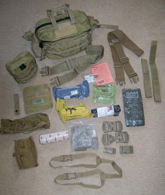 SO Tech MGB Mission Go Bag NAR Tourniquet OLAES Bandage Gauze SAM Splint Phoenix