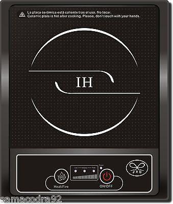 Placa de induccion portatil 2000 w cocina de inducción