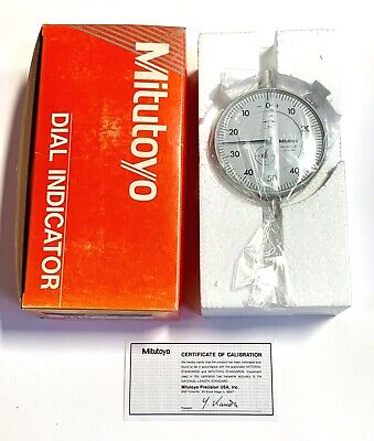 Mitutoyo Dial Indicator .001 - .250 Made In Japan 3411