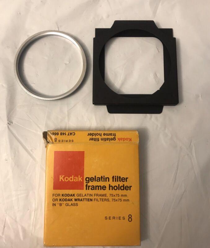 Kodak Screw-in Retaining Ring And Gelatin Filter Frame Holder