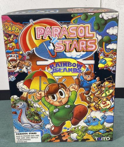 Computer Games - Commodore Amiga Parasol Stars PC Computer Video Game w/ Manual & Box