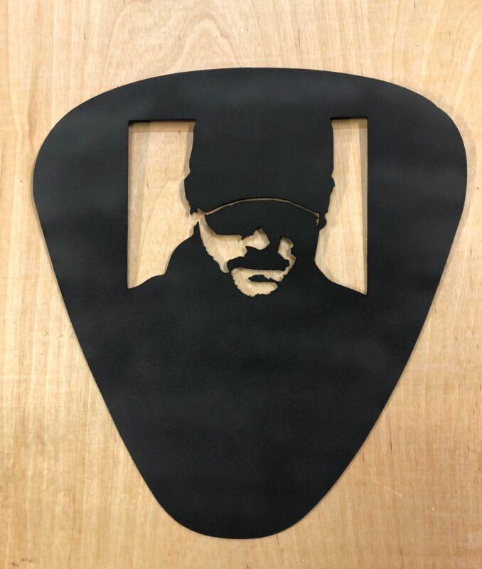 Eric Church Guitar pick metal wall sign for studio or music room