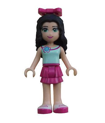 Lego Friends Emma magenta Rock Top wasserfarbend Minifigur (frnd052) Neu 41130 ()