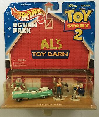 Hot Wheels ACTION PACK TOY STORY 2 AL'S TOY BARN Disney Pixar Woody Buzz Jessie