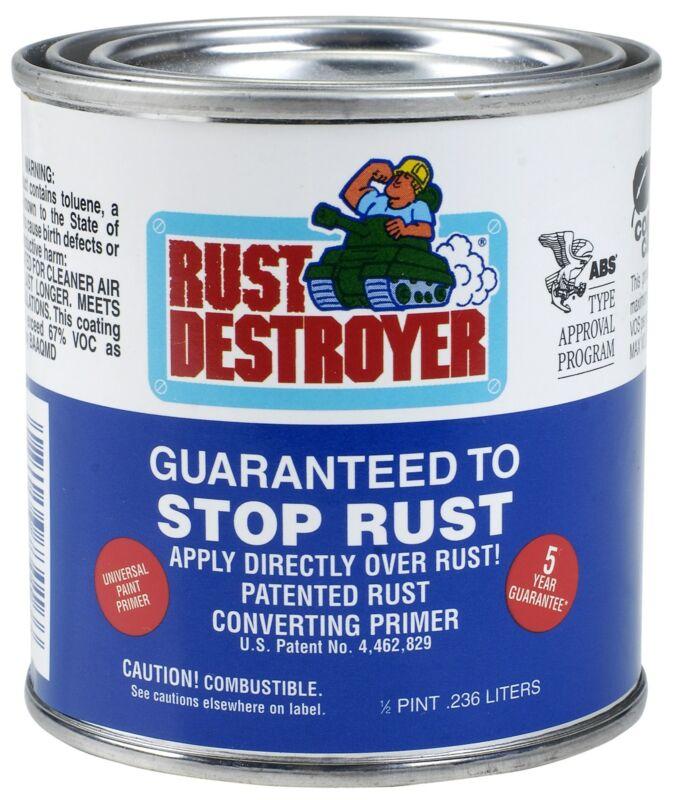 Rust Destroyer 73016rd 1/2 Pint Rust Destroyer,No 73016RD