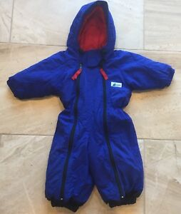 Nice Kids MEC Blue Snowsuit size 2