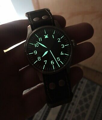 Stowa Flieger Classic 40mm ETA 2824-2 Men's Watch Timepiece Complete Near Mint!
