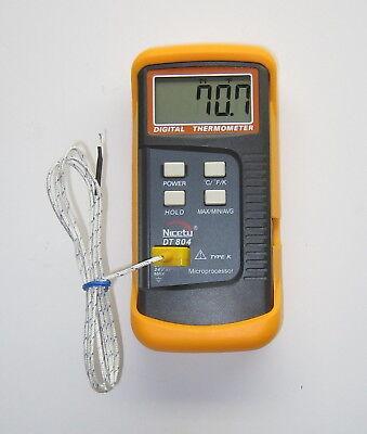 K-type Scientific Digital Thermometer Thermocouple Wire Temperature Sensor Probe