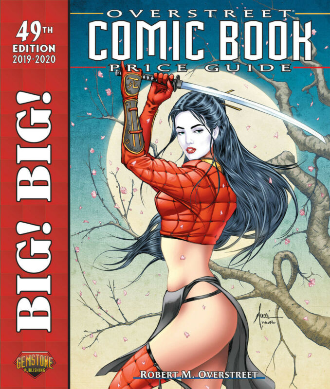 BIG! BIG! OVERSTREET 2019 2020 COMIC BOOK PRICE GUIDE VOL #49 SC Dealer Edition