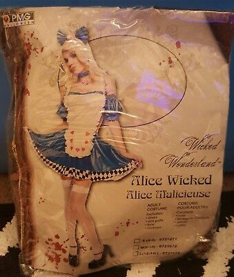 Wicked Alice In Wonderland Costumes (Wicked Alice in Wonderland Costume - Large)